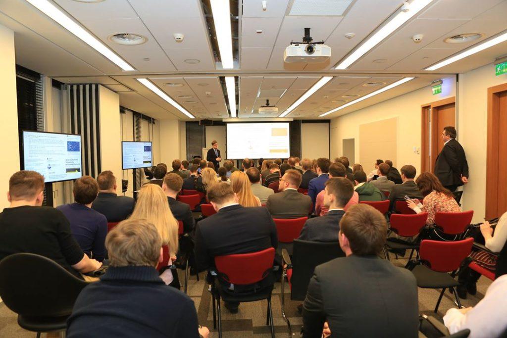 Выступление Даниеля Гусева - управляющего партнера люксембургского фонда инвестиций в финансовые технологии Digital Space Ventures