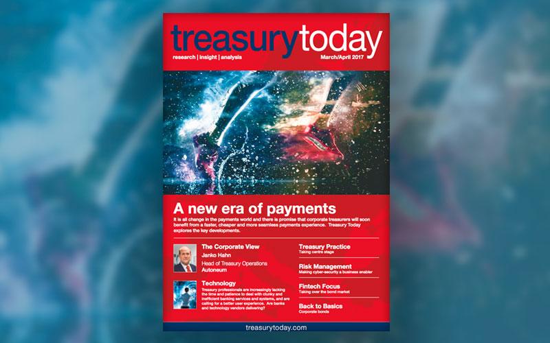 Treasury Today за Март/Апрель 2017