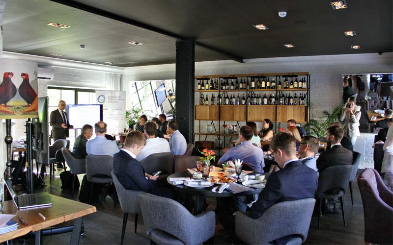 В Москве состоялся деловой завтрак для представителей банков «Актуальные решения и практика применения автоматизации»