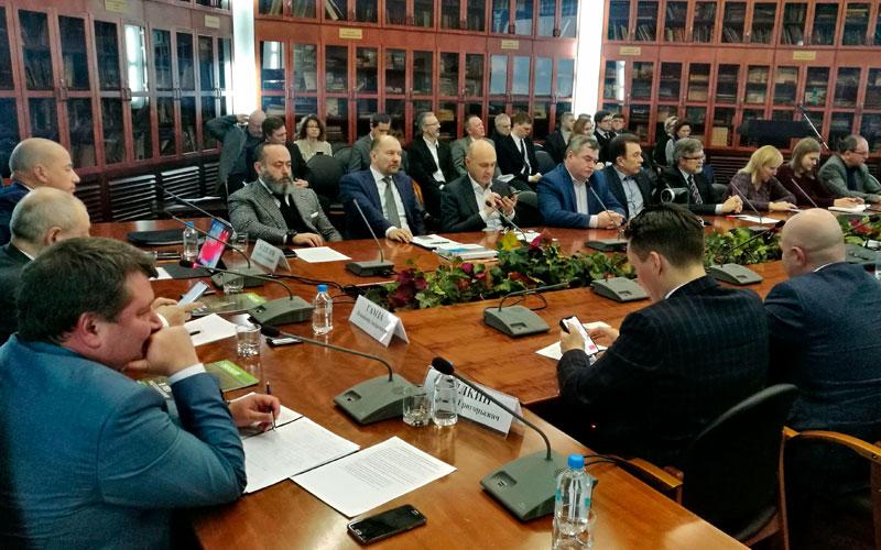 Заседание Совета ТПП РФ по финансово-промышленной и инвестиционной политике