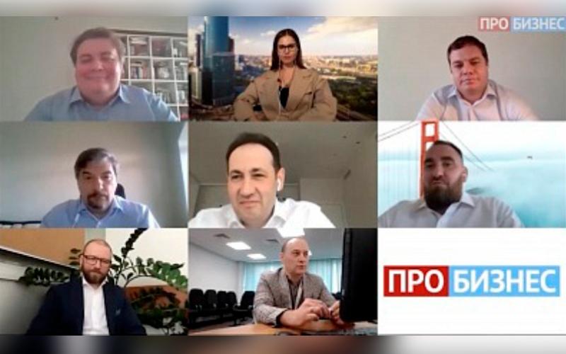 Владимир Козинец и Сергей Барсуков выступили на канале ПроБизнес